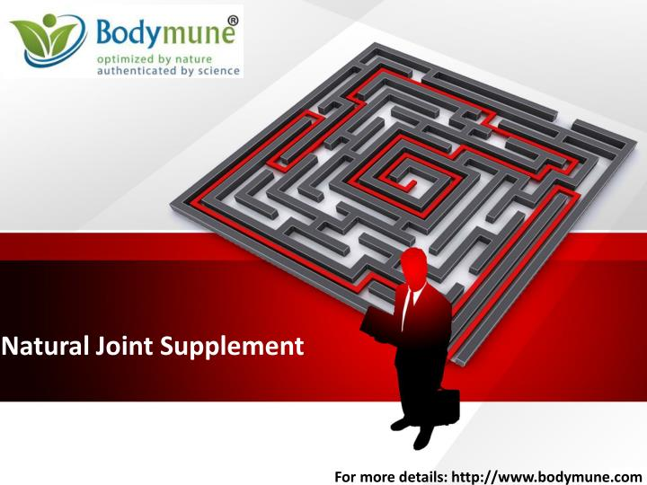 natural joint supplement n.