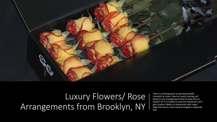 luxury flowers rose arrangements from brooklyn ny n.