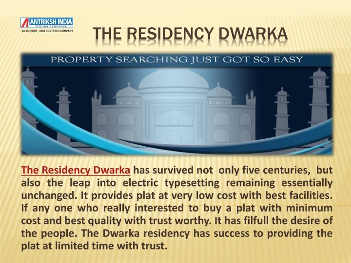the residency dwarka n.
