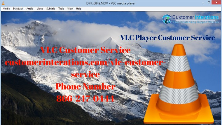 vlc player customer service n.