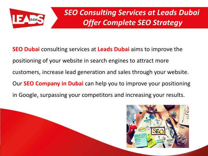 seo consulting services at leads dubai offer complete seo strategy n.