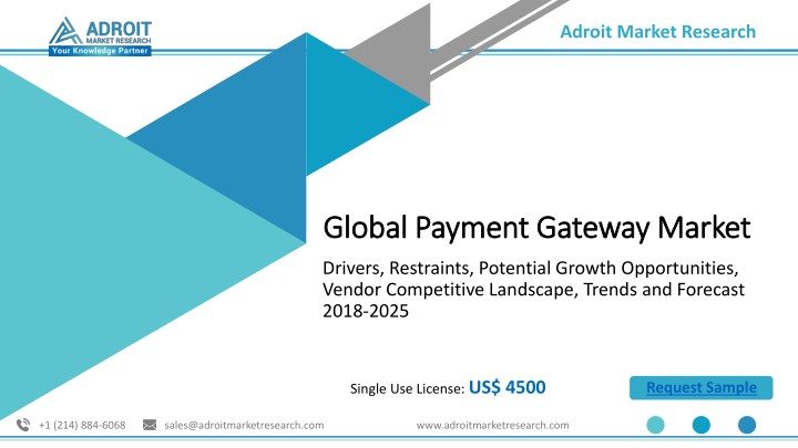 PPT - Payment Gateway Market : Global Industry Trends, Size, Share