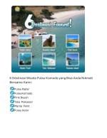 6 destinasi wisata pulau komodo yang bisa anda