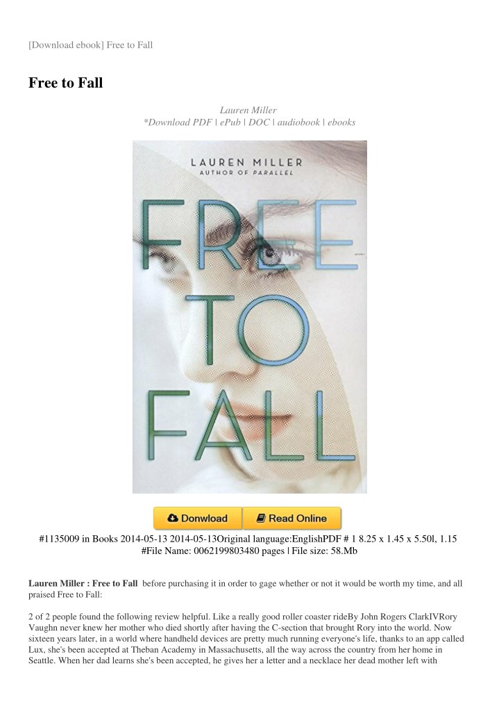 download ebook free to fall n.