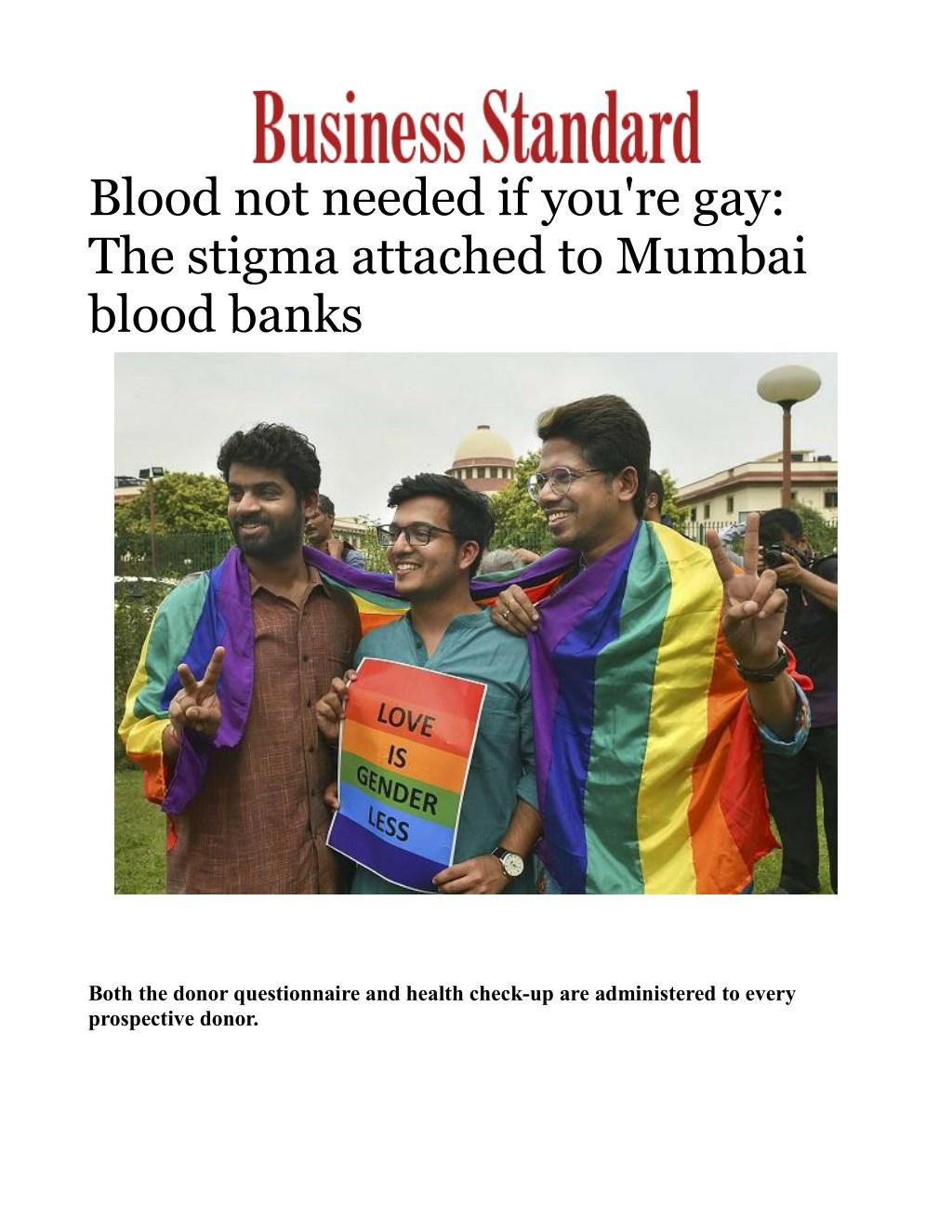 Pumpin homosexuals
