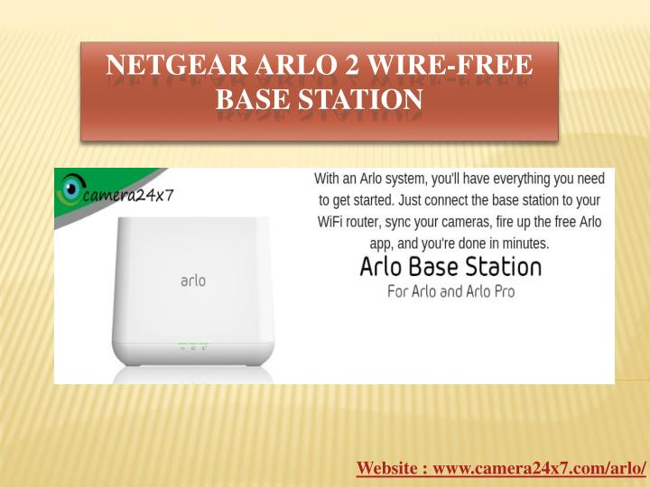 netgear arlo 2 wire free base station n.