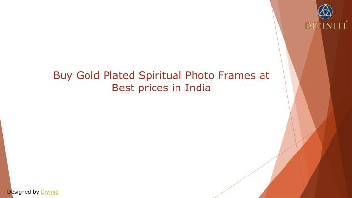 buy gold plated spiritual photo frames at best n.