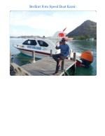 berikut foto speed boat kami