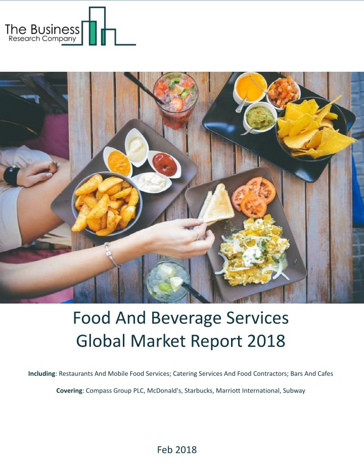 food and beverage services global market report n.