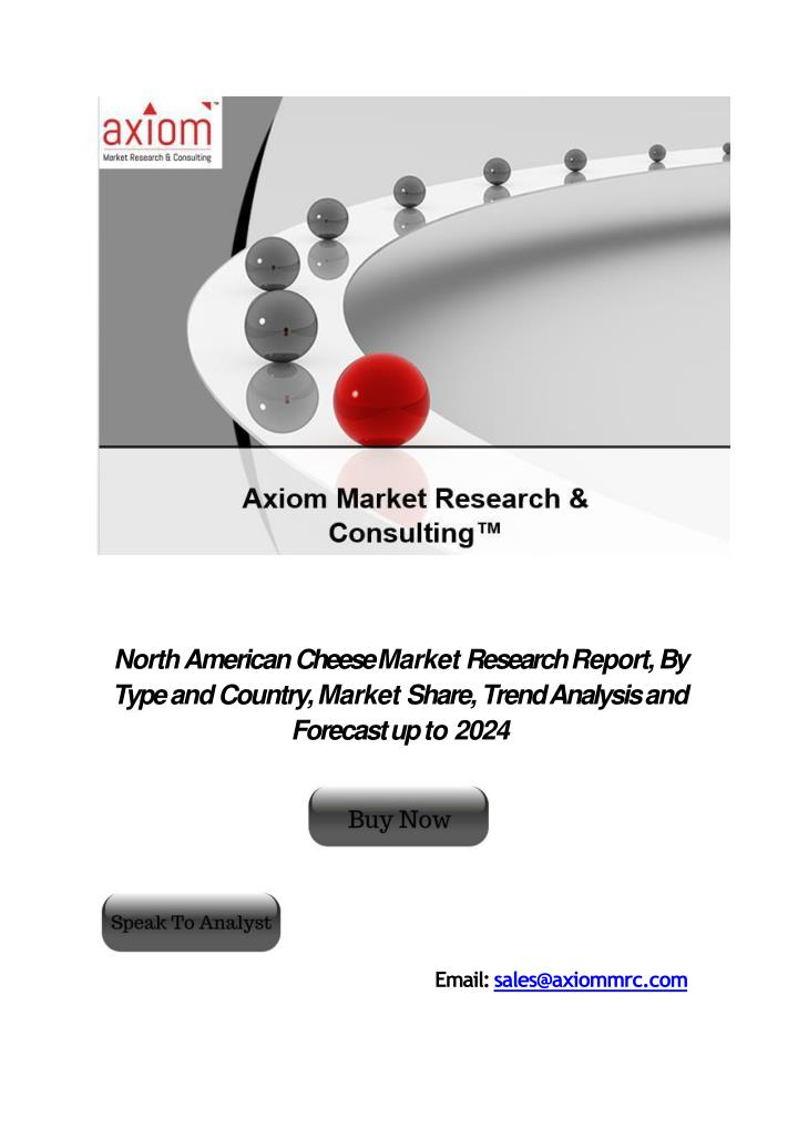 north american cheese market research report n.