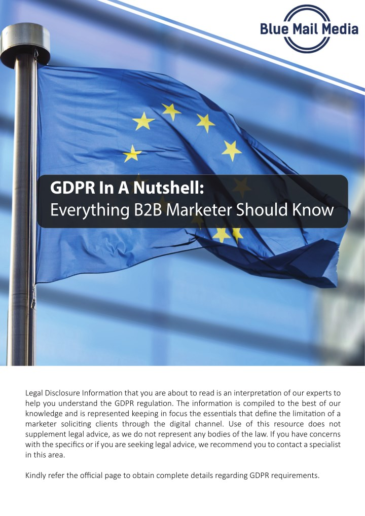 gdpr in a nutshell everything b2b marketer should n.