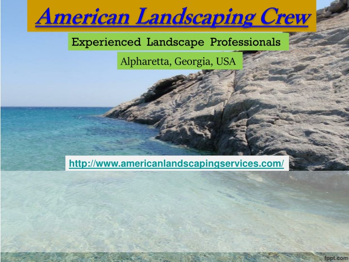 experienced landscape professionals n.