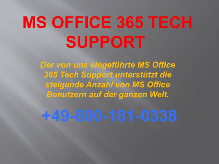 ms office 365 tech support n.