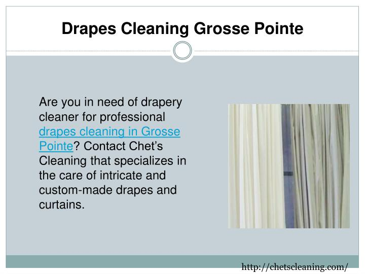 drapes cleaning grosse pointe n.