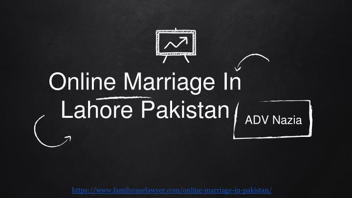 online marriage in lahore pakistan n.