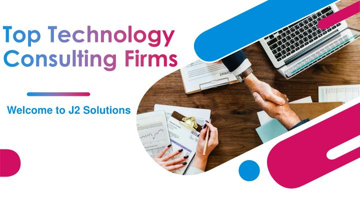 top technology consulting firms n.