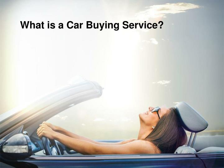what is a car buying service n.