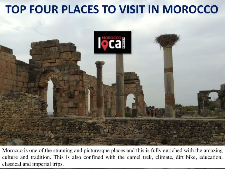 top four places to visit in morocco n.