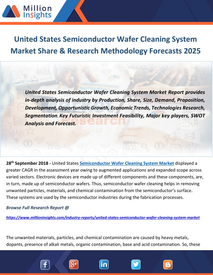 united states semiconductor wafer cleaning system n.
