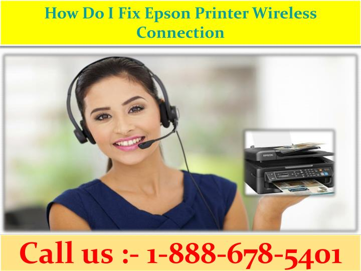 how do i fix epson printer wireless connection n.