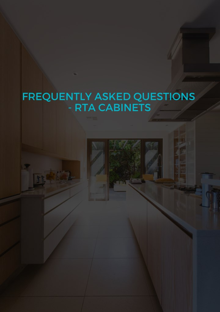 frequently asked questions rta cabinets n.