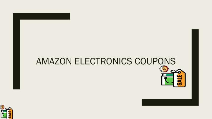amazon electronics coupons n.