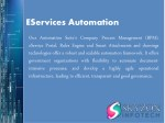 eservices automation