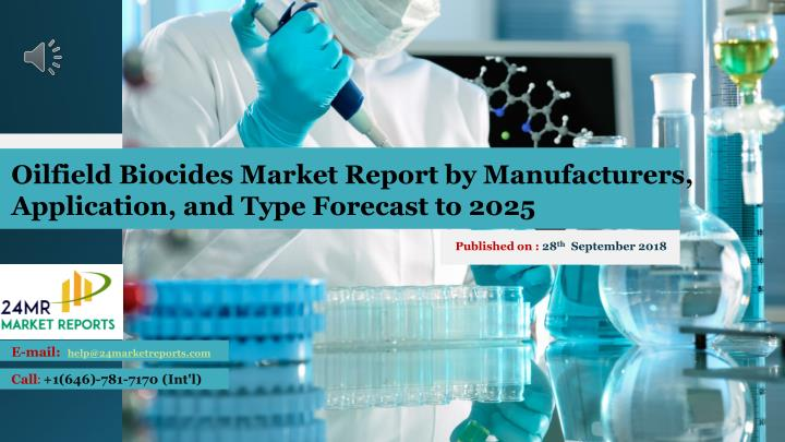oilfield biocides market report by manufacturers n.