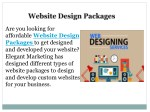 are you looking for affordable website design