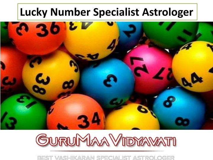 lucky number specialist astrologer n.