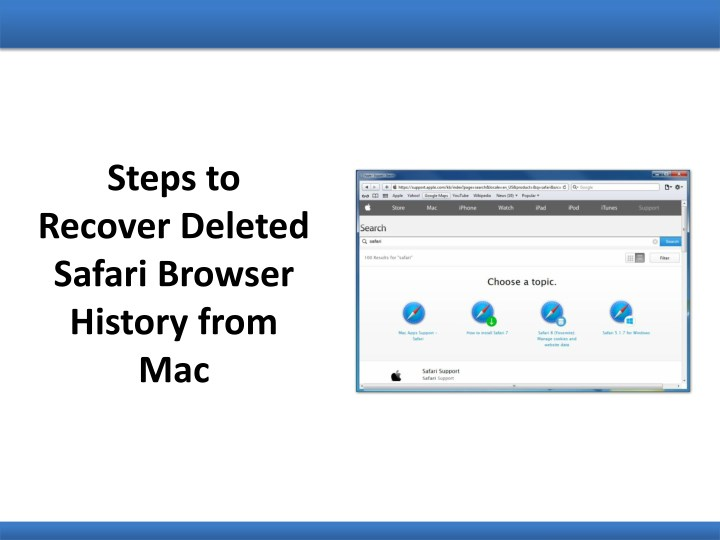 steps to recover deleted safari browser history n.