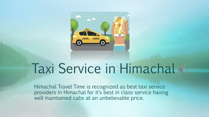 taxi service in himachal n.