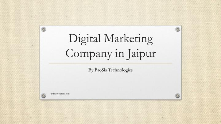 digital marketing company in jaipur n.