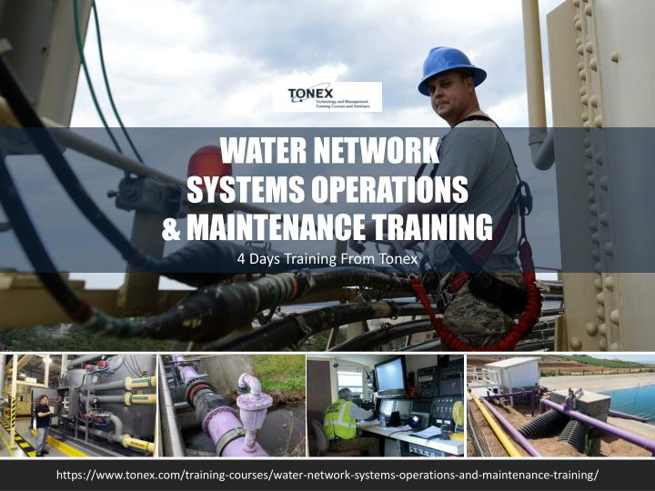 water network systems operations maintenance n.