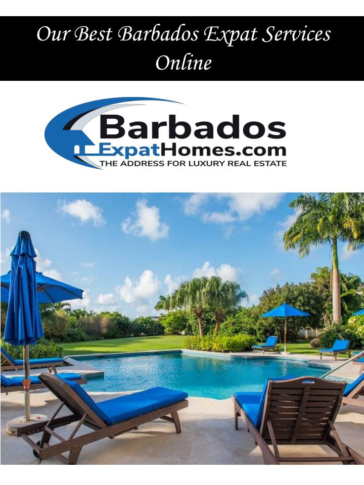 our best barbados expat services online n.