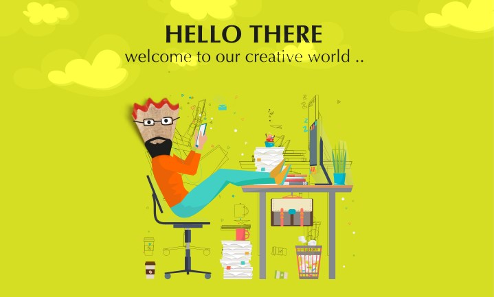 hello there welcome to our creative world n.