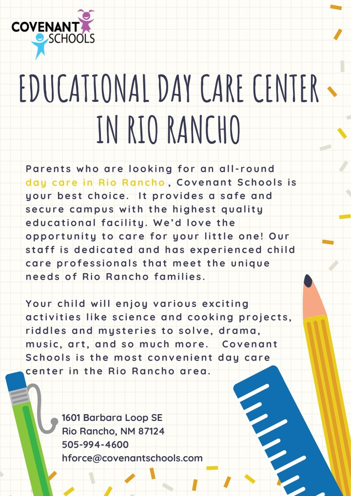 educational day care center in rio rancho n.