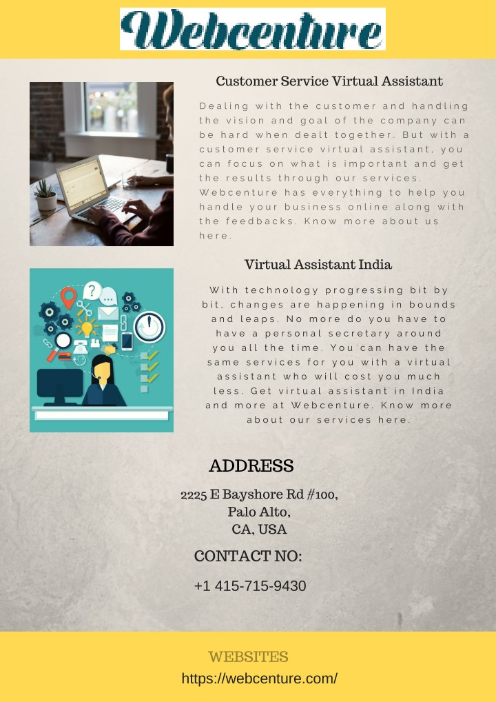 customer service virtual assistant n.
