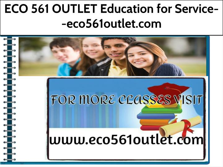 eco 561 outlet education for service eco561outlet n.
