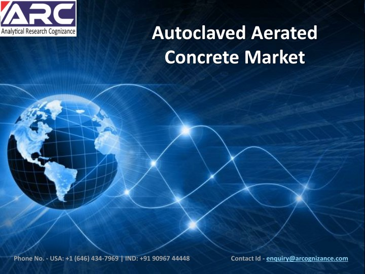 autoclaved aerated concrete market n.