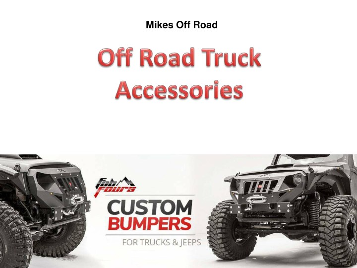 mikes off road n.