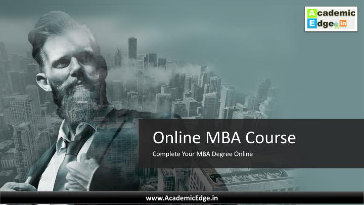 online mba course n.
