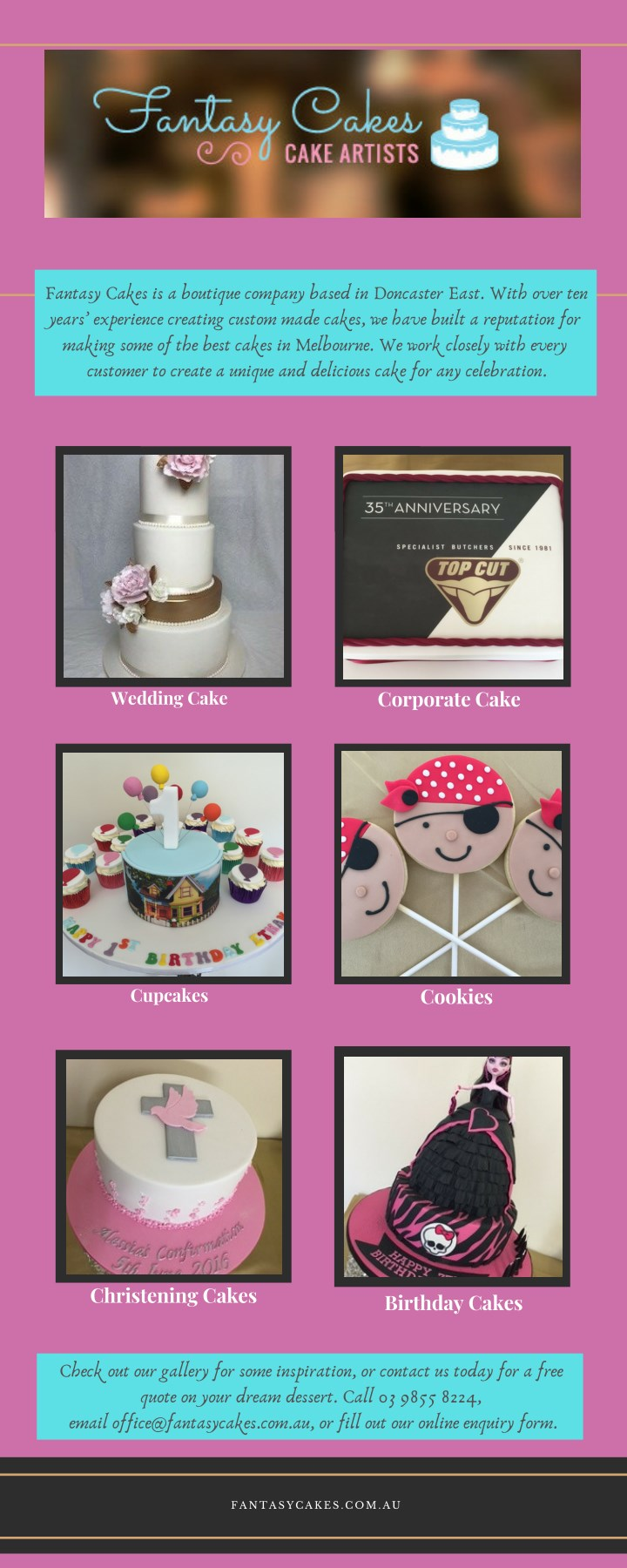 Groovy Ppt Melbournes Best Custom Made Cupcakes Cakes Fantasy Funny Birthday Cards Online Alyptdamsfinfo
