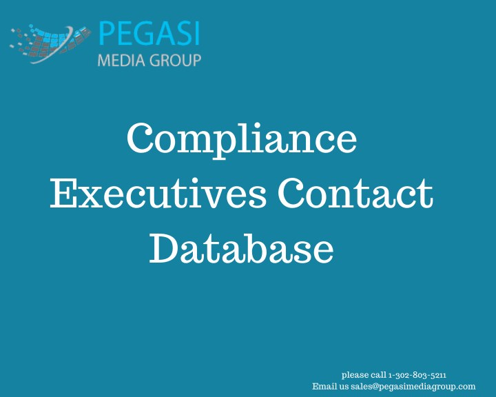 compliance executives contact database n.