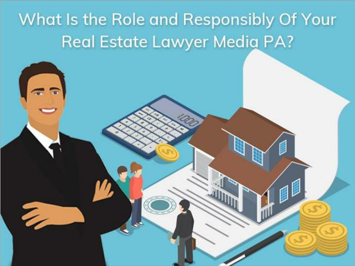 what is the role and responsibly of your real estate lawyer media pa n.