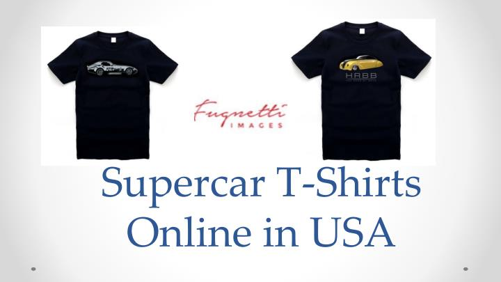 supercar t shirts online in usa n.