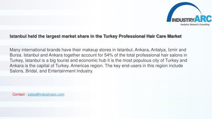 PPT - Turkey Professional Hair Care Market 2018 - Leading