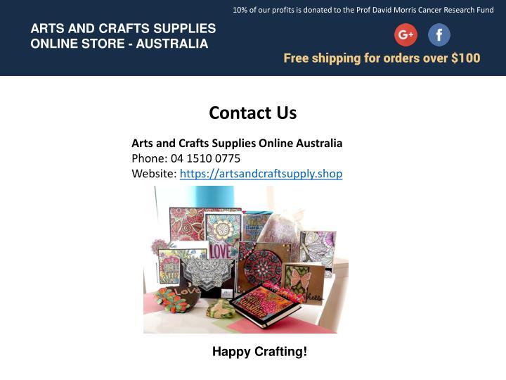 Ppt Unique Craft Supplies Online In Australia Powerpoint