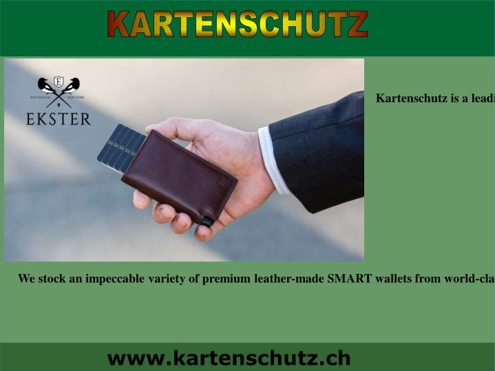 kartenschutz is a leading provider of high n.