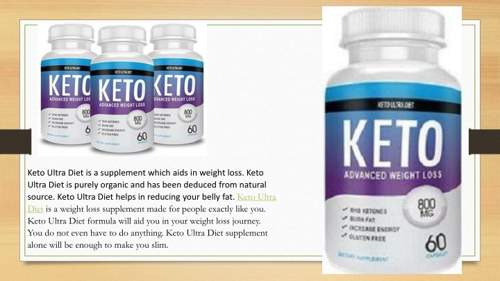 keto ultra diet is a supplement which aids n.